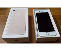 Venta Apple iPhone 7 32GB (Jet Black, Black, Silver, Gold, Rose Gold)….$450