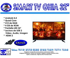 SMART TV GHIA 32