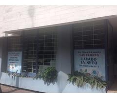 TRSPASO LAVANDERIA, PLANCHADURIA CON SERVICIO DE TINTORERIA