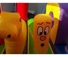 Inflable, brincolin, baby gym juegos para niños