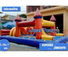 juego inflable interactivo