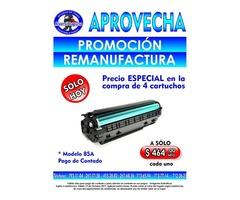 PROMOCION DE REMANUFACTURA DE TONER