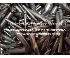 CARBURO DE TUNGSTENO COMPRA VENTA EN IZTAPALAPA, CIUDAD DE MEXICO