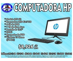 COMPUTADORA HP ALL IN ONE 205 G3