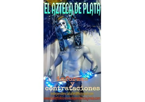 DALE UN TOQUE ESPECIAL A TU FIESTA O EVENTO CON EL AZTECA DE PLATA