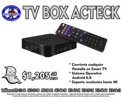 TV BOX DE ACTECK
