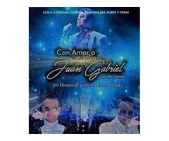 El mejor imitador de Juan Gabriel cantando en vivo