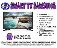 SMART TV SAMSUNG DE 32
