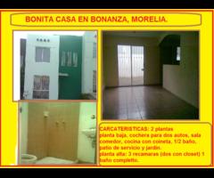 EXCELENTE OPORTUNIDAD DE CASA EN BONANZA