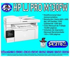 MULTIFUNCIONAL HP LJ PRO M130FW