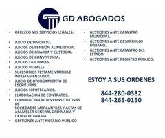 GD ABOGADOS SERVICIOS INTEGRALES JURÍDICOS