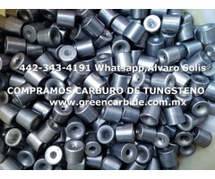 COMPRA DE TUNGSTENO CARBURO EN CDMX
