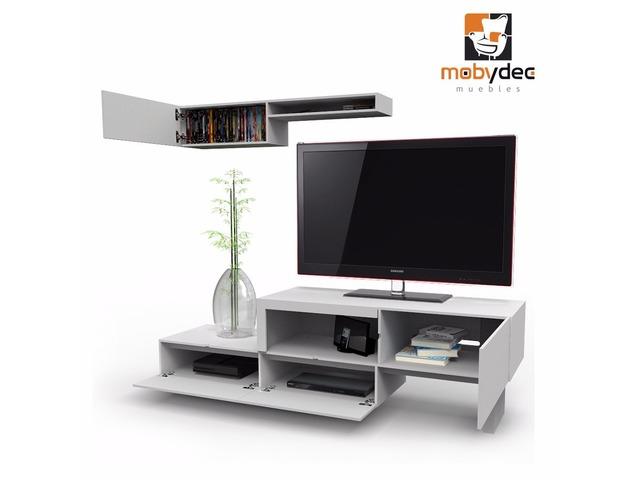 Muebles para tv modernos dise o calidad y precio mobydec for Muebles modernos precios