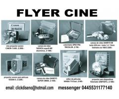 Venta de Cámaras y accesorios para Cine