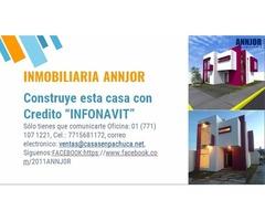 Con Credito Infonavit construye tu casa