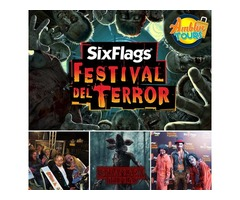 FESTIVAL DEL TERROR SIX FLAGS