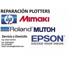 REPARACIÓN DE PLOTTERS, IMPRESORAS Y COMPUTADORAS