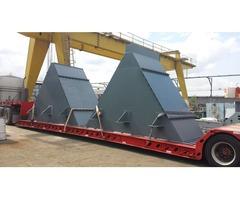 Transportacion de carga pesada y sobredimensionada