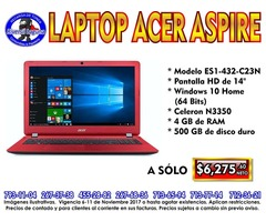 LAPTOP ACER ASPIRE ES1-432-CN23N