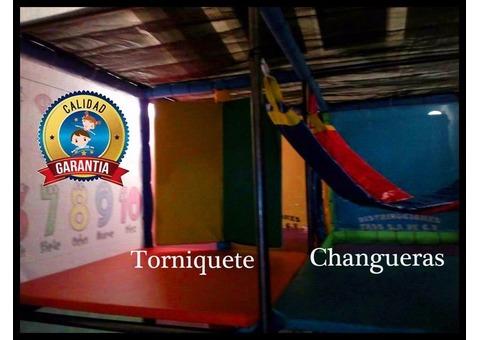 Variedad en Modulares Juegos Infantiles para Interior y Exterior