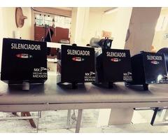 FILTRO SILENCIADOR INDUSTRIAL DE 1