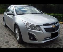 Chevrolet Cruze Lt, Automatico 2014 Precio: 120,000,MXN