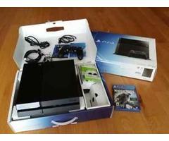 nuevo negro Sony Playstion 4-500GB