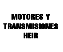 Motores y Transmisiones HEIR