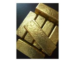 Disponibilidad de lingotes de oro