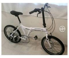 Bicicleta Benotto Utopia R20 7V.Plegable Aluminio Pintado Shimano