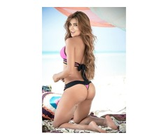 Bañador Bikini Tanga Corte Brasileño Hilo Dental Trikini