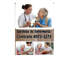 ENFERMERAS Y CUIDADORAS A DOMICILIO Y EN HOSPITALES