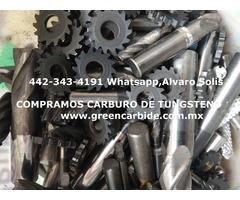 COMPRA VENTA DE CARBURO CUALQUIER DESPERDICIO