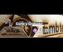 Embtec ofrece todo tipo de bordado, corte, y grabado láser: