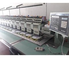 Embtec máquina bordadora Tajima 20 cabezales.