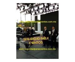 Seguridad para eventos Mexico