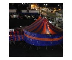 renta de carpas de circo