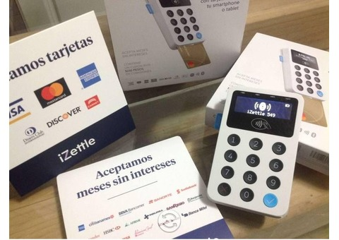 Izettle, El Mejor y mas confiable en MX p/recibir pagos con tarjeta