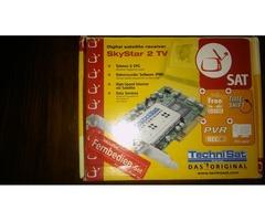 Placas para internet y tv satelital