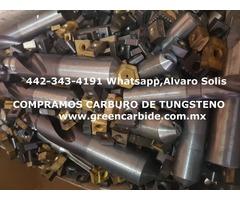 COMPRO CARBURO DE TUNGSTENO USADO EN CHIHUAHUA
