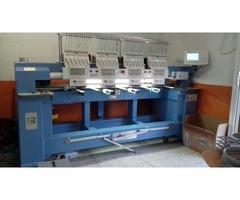 Embtec máquina bordadora 4 cabezales