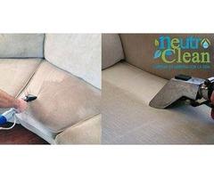 Limpieza de salas y tapicería en general.