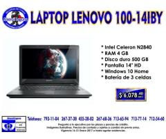 LAPTOP LENOVO 100-14