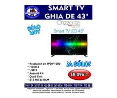 SMART TV GHIA ORIZZONTE DE 43