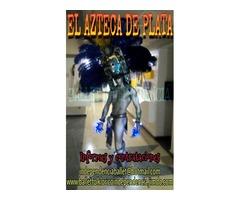EN TU EVENTO DE XV AÑOS,BODA O FIESTA EL AZTECA DE PLATA