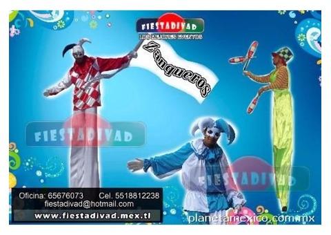 ZANQUEROS PROFESIONALES (Empresa Fiestadivad)