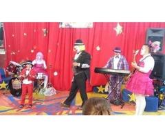payasos profesionales diversion musical