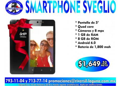 SMARTPHONE SVEGLIO Q1