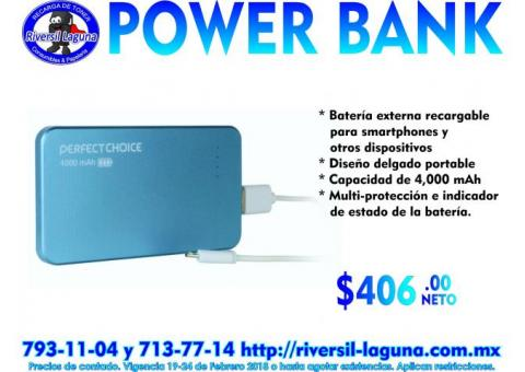 POWER BANK PERFECT CHOICE