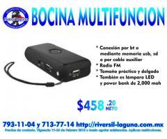 BOCINA MULTIFUNCION DE EASY LINE